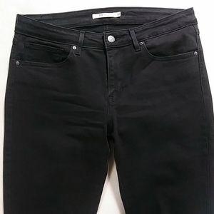 LEVI'S 711 Skinny Jeans in Black